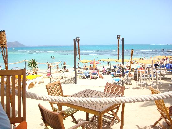 Barcelo Corralejo Bay: View from the Chill Out Bar on beach