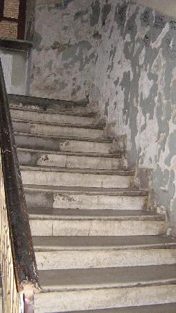 Prozna Street (Ulica Prozna): Looking up the Stairs