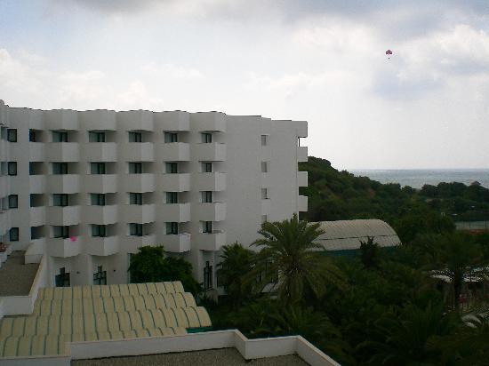 Sural Saray Hotel: Vue de la chambre côté mer