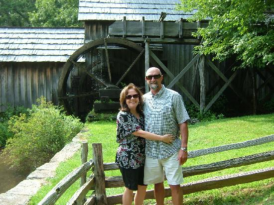 Sobotta Manor Bed & Breakfast: Mabry Grist Mill on the Blue Ridge Parkway. A nice drive from the Sobotta
