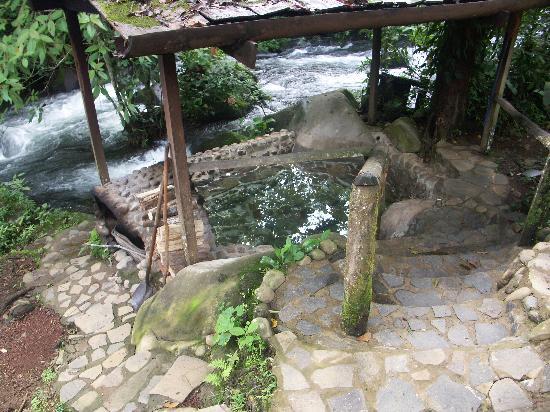 La Carolina Lodge : The wonderful hot tub