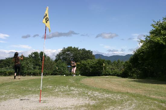 VHP Karuizawa: 竹内でパターゴルフ
