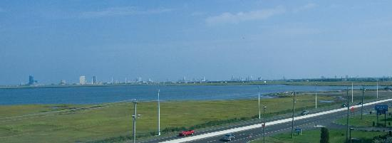 Travelodge Absecon Atlantic City: View from hotel room of the strip