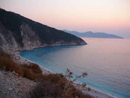 Kefalonia, Griechenland: Myrtos Beach