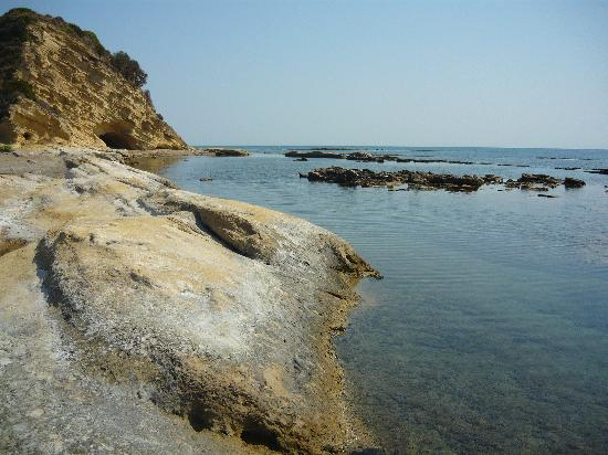 Kefalonia, Griechenland: Mouda Beach