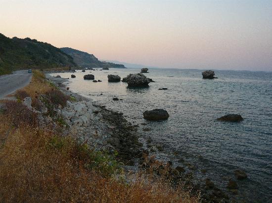 Kefalonia, Griechenland: Skala Beach