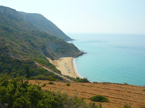 Cephalonia, Greece: Koroni Beach