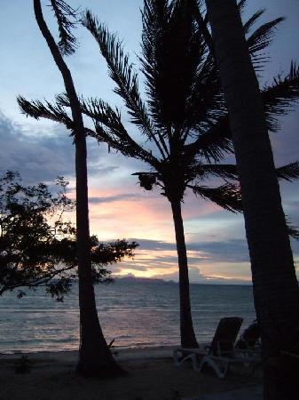 Samui Amanda Resort: Sunset beach