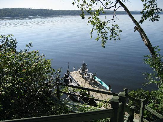 Manoir Hovey: le cartier private dock