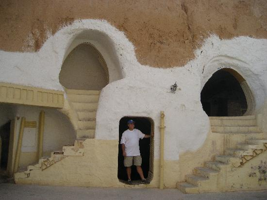 Matmata, Túnez: courtyard