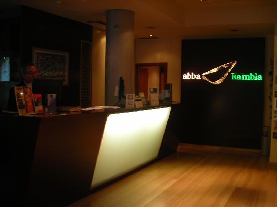 Abba Rambla Hotel: lobby del hotel