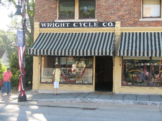 Wright Brothers Bike Shop Picture Of The Henry Ford