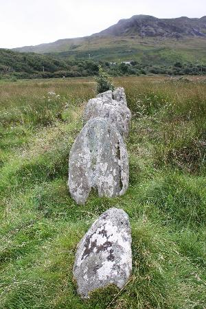 Westport, Irland: Ireland: co. Mayo - Clew Bay Trail 5: Stone Alignment