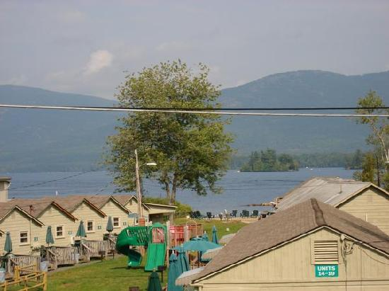 Diamond Cove Cottages: View from our 2nd floor deck