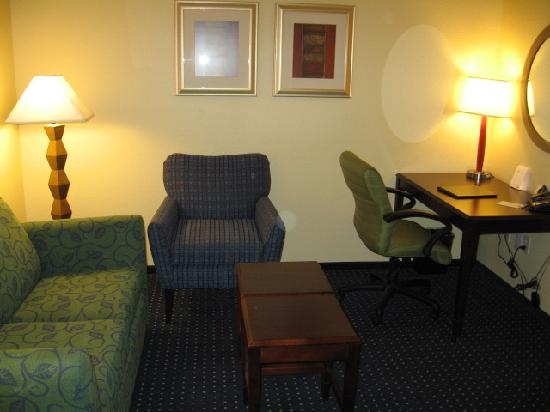 SpringHill Suites Boulder Longmont: Sitting area