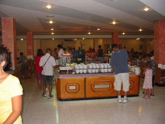 Club Cala Romani : l'un des 3 buffet