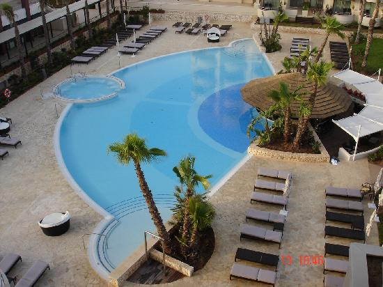 Protur Biomar Gran Hotel & Spa: pool from balcony