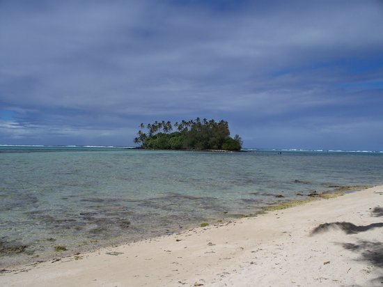 Avarua, Ilhas Cook: Island around which we snorkolled