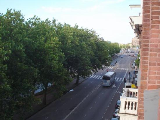 Ibis Styles Amsterdam City: View Down the Street...
