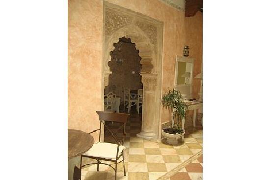 Hotel Argantonio: Entrance - breakfast room