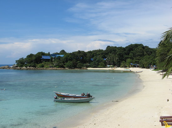 Senja Bay Resort: Beach from Suria