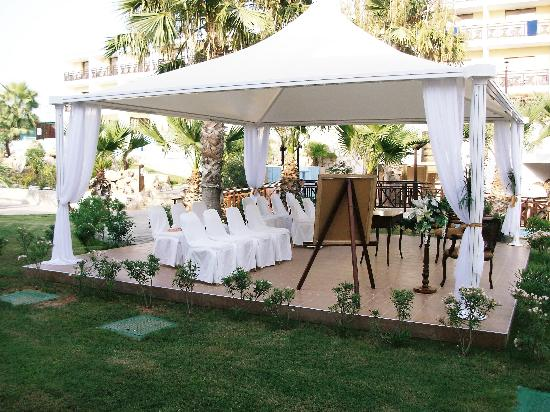 Atlantica Aeneas Hotel: wedding area