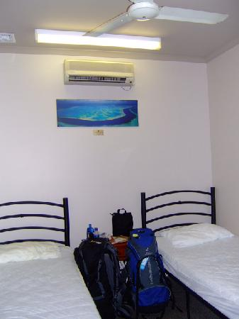 Global Backpackers Central: no windows but a great backpackers