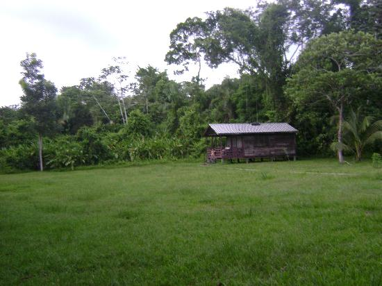 Dangriga, Belize: the cabin we paid about $19 per night to stay in - sleeps lots of people maybe 8 - 10