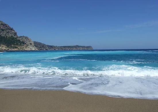 Mallorca, Spanien: Coll Baix beach