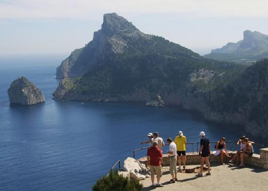 Majorca, Spain: Viewpoint on Formentor headland
