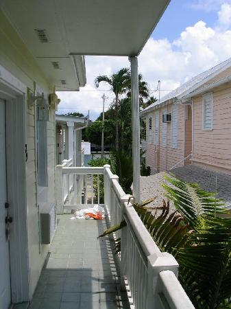 Budget Key West: back porch