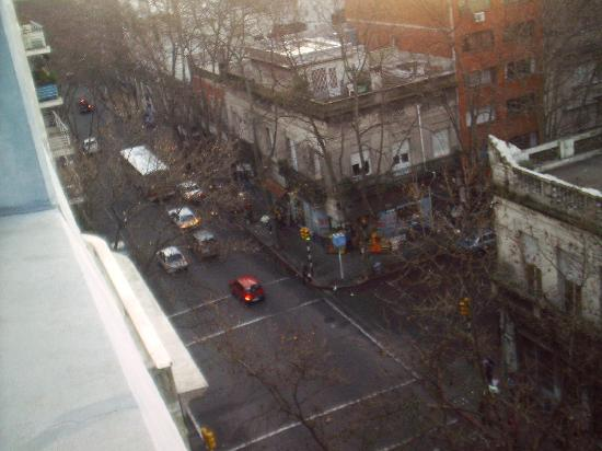Hotel Lafayette: View from the window