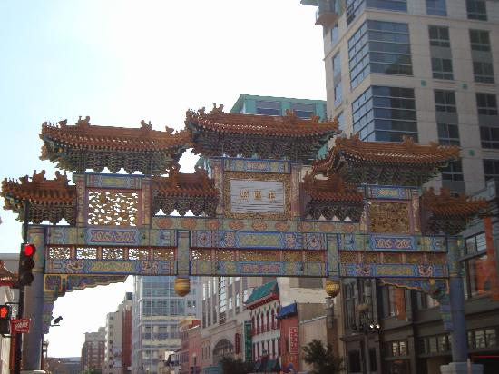 Chinatown Archway: up close