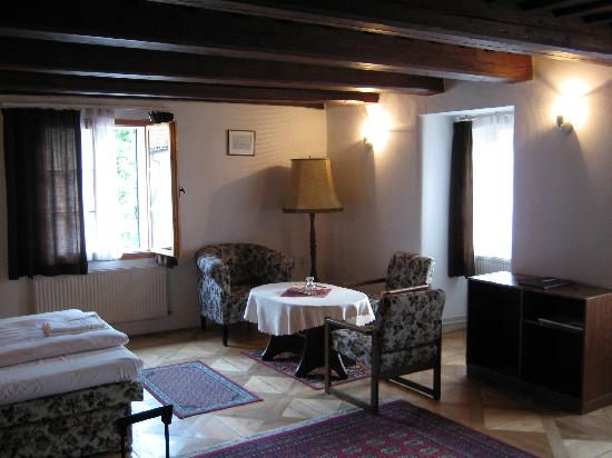 Pension Dientzenhofer: Huge room
