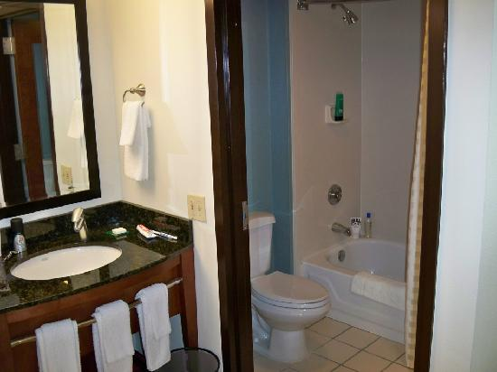 Hyatt Place Tulsa-South/Medical District: bathroom
