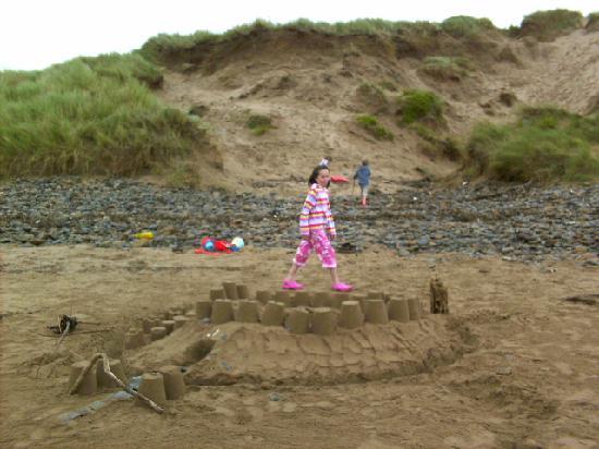 Saunton Sands Beach : dunes and beach