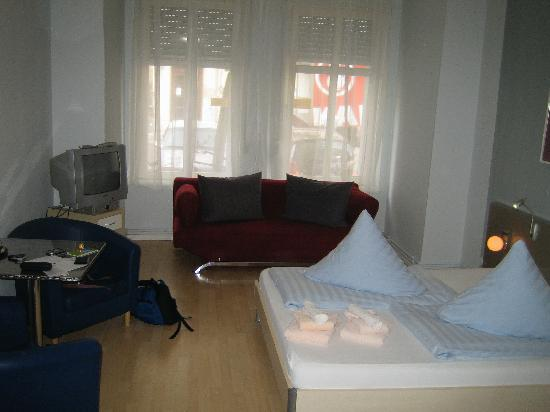 1A Apartment Guesthouse and Hotel : chambre