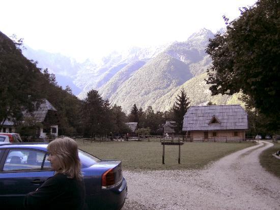 Pristava Lepena: The view
