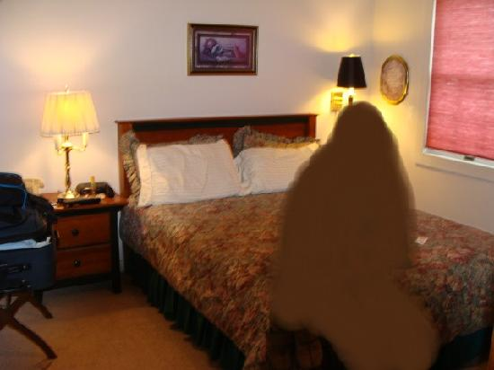 Colony Inn: Bedroom