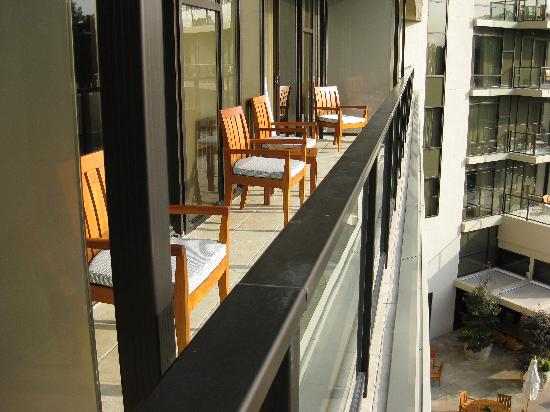 The Umstead Hotel and Spa: Suite balcony