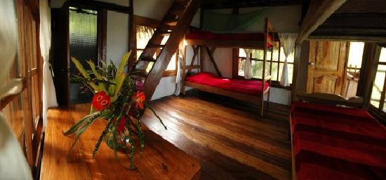 Finca Punta Ayampe: one of the cabinas