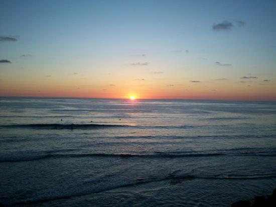 Villa Caribe : Sunset in August in San Diego