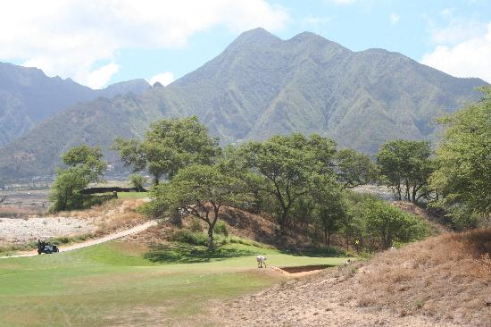 The Dunes at Maui Lani Golf Course: 3rd Hole From Tee