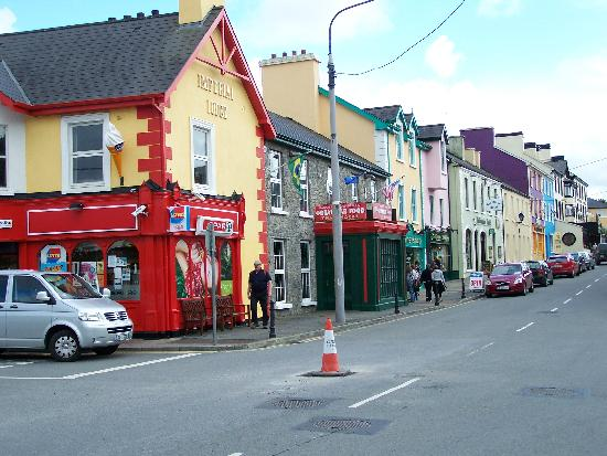 Main street in Lisdoonvarna