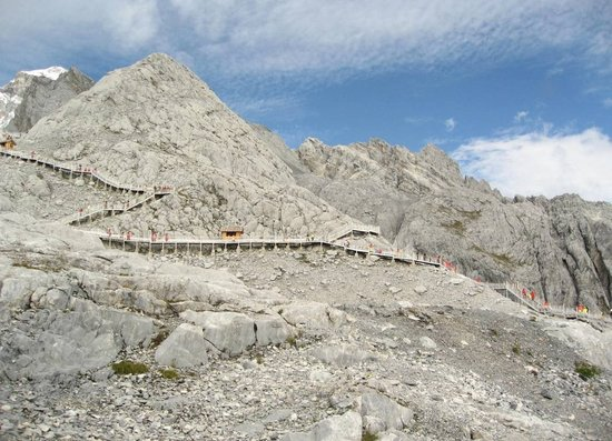 Kina: Yulong Snow Mountain