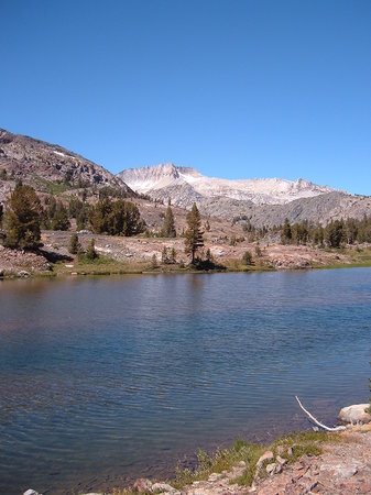 Lee Vining, Kalifornien: Fantail Lake - about a 2 mile hike from the cabin