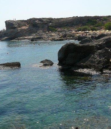 Pegasos Beach Hotel: vue des rochers jordan's beach