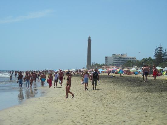 Gran Canaria, Spain: spiaggia di maspalomas