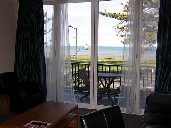 The Nautilus: Balcony & view