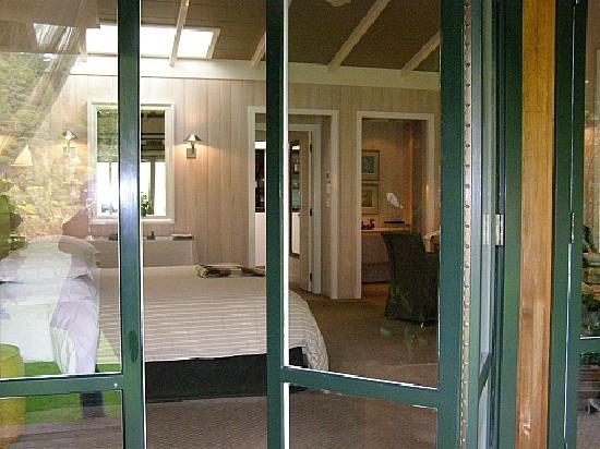 Huka Lodge: View inside